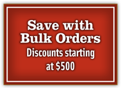 Save With Bulk Orders